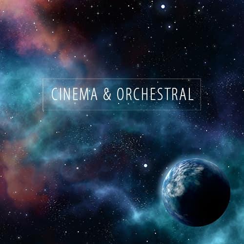 Cinema & Orchestral Sounds und Spotify Playlist
