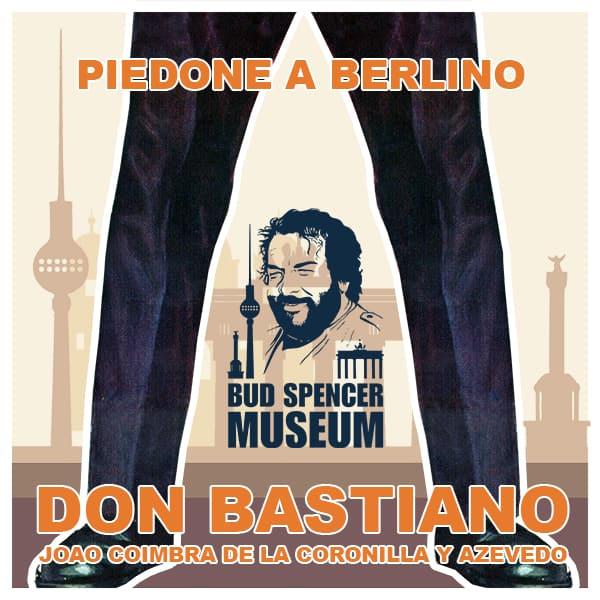 Don Bastiano Playlist zum neuen Album und offiziellen Soundtrack des Bud Spencer Museums